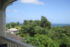 sea view from porch