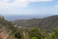 view over Layou valley