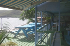 beachfront deck & restaurant