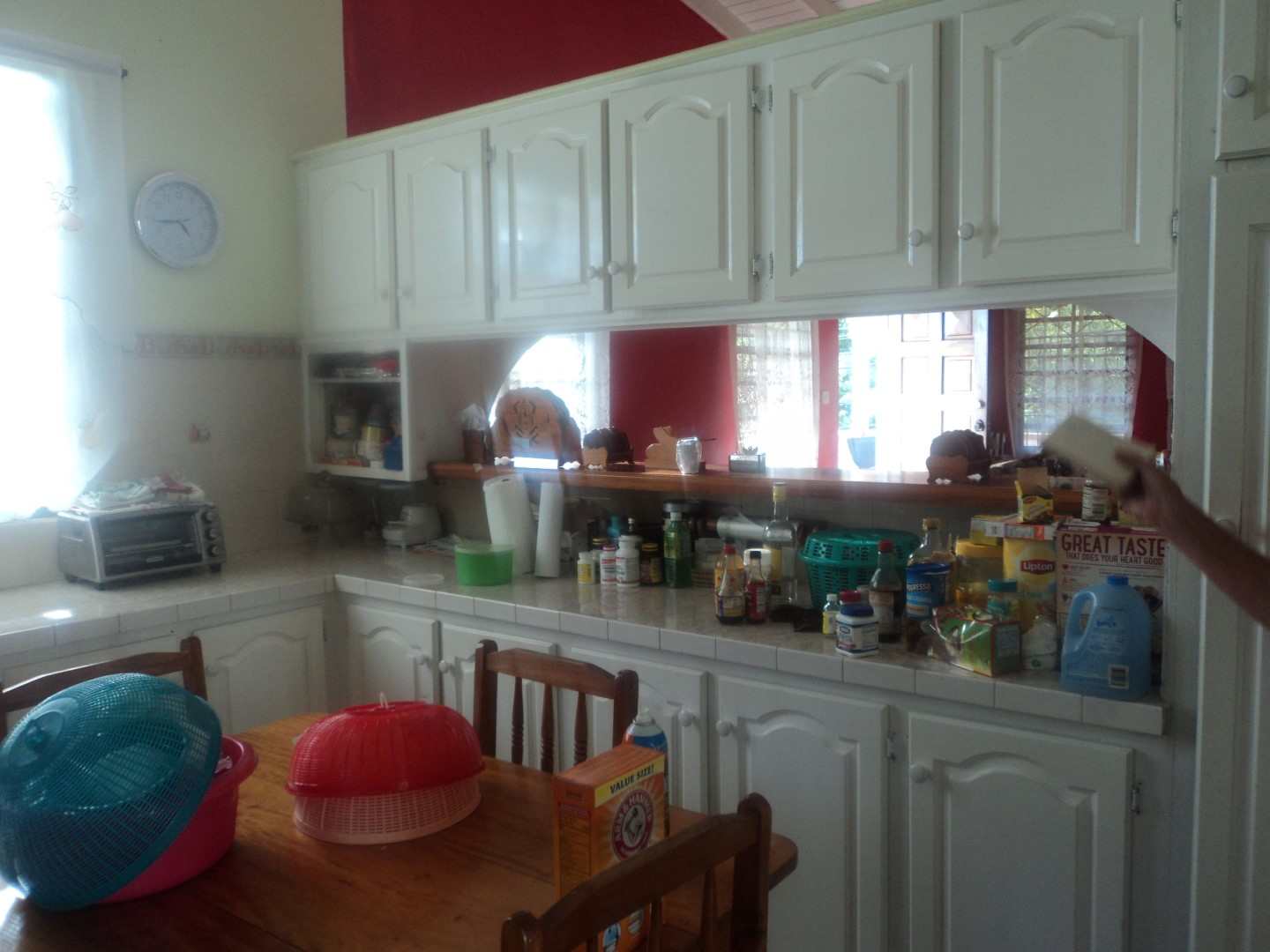 kitchen upstairs