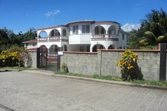 view of home from access road