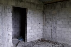 unfinished ground floor apartment